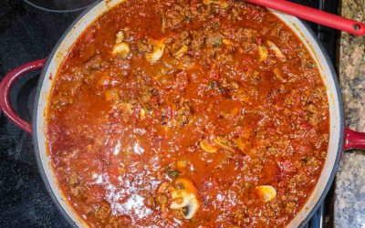 Pot Luck Meat Sauce