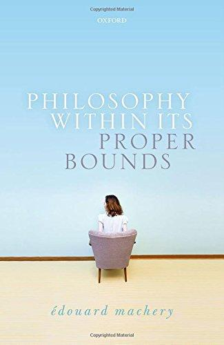 The front cover of Philosophy In Its Proper Bounds