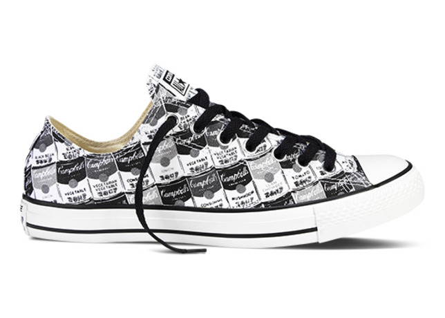 That Sick Andy Warhol x Converse Collaboration Is Out This