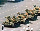 Would anybody have the courage to stand infront of a line of tankers by themselves these days?
