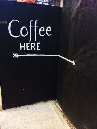 Container Coffee wall 1
