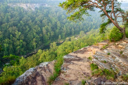 Scenic View Into Gorge Little River Canyon National Preserve, Alabama
