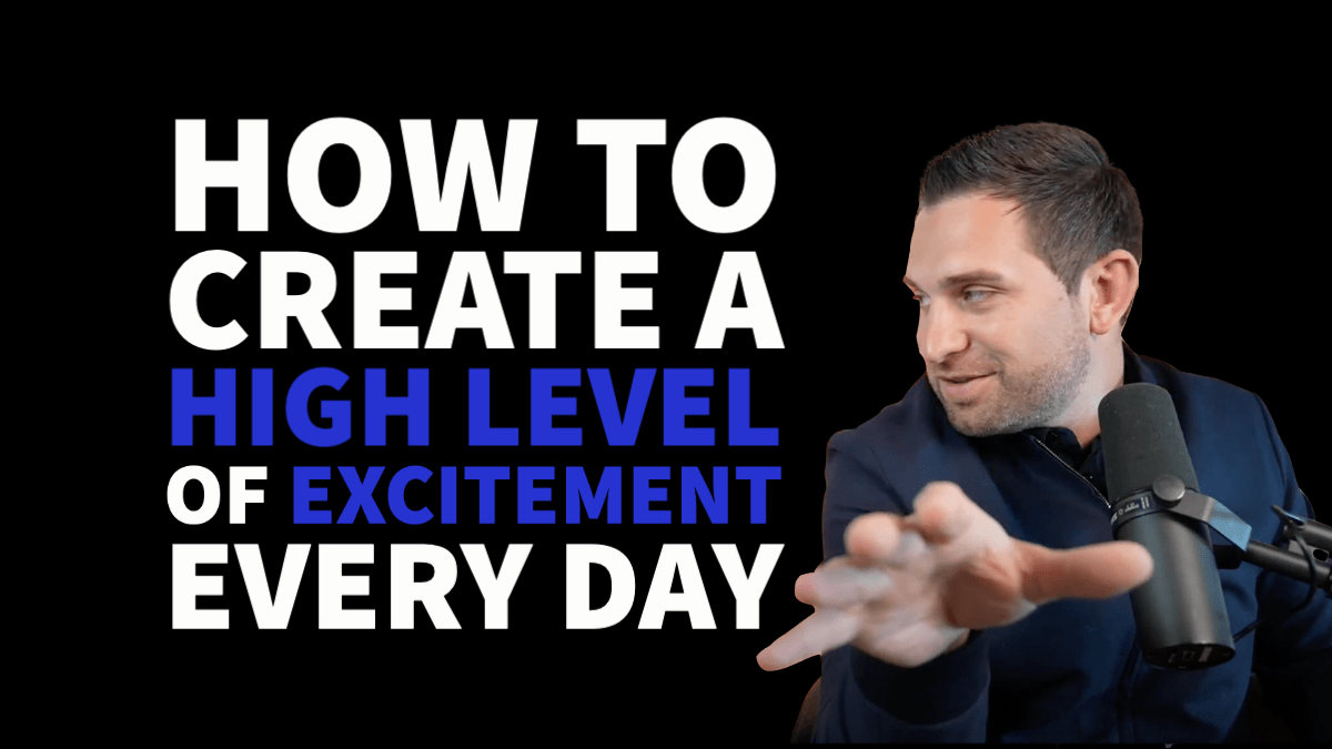 how to create excitment