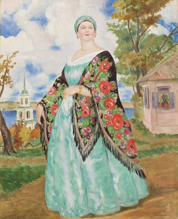 Boris Kustodievs Ideal of Beauty  Byrons muse