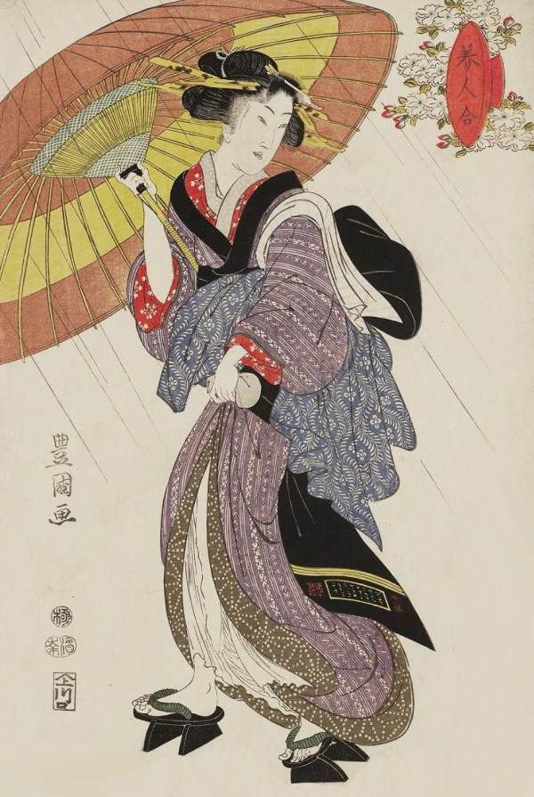 Japanese Ukiyo E Woodblock Prints Woman