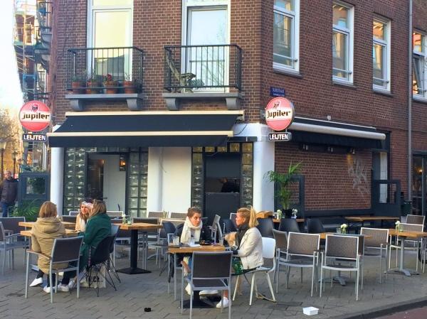 Bar Leijten Amsterdam terras