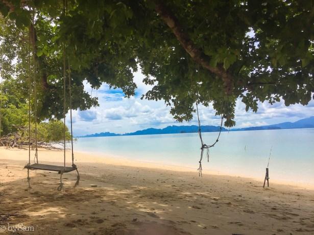 Verborgen strand Koh Yao Noi