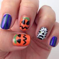 Easy Halloween Nail Art | www.imgkid.com - The Image Kid ...