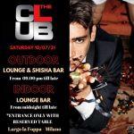 Sabato The Club Milano   Info&prenotazioni +39 3934601143