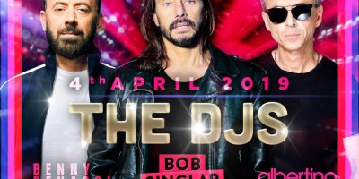 The DJs: Bob Sinclar, Benny Benassi, Albertino
