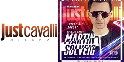Martin Solvaig Venerdì 31 Agosto 2018 @ Just Cavalli | #bystaff.it