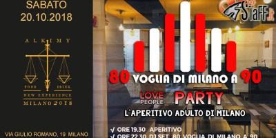 Aperitivo Love People con musica Revival | One night