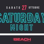 Sabato The Beach Club Milano   Sabato 27-10-18