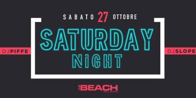 Sabato The Beach Club Milano | Sabato 27-10-18