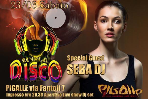 Sabato Pigalle Milano