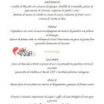 Menù cenone Feel Restaurant and lounge - #bystaff.it
