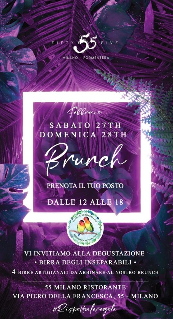 Domenica Brunch 55 Milano