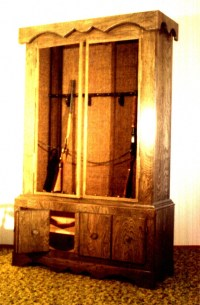Just Beginning: designing a Gun Cabinet   Projects ...
