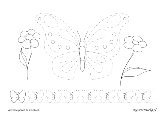 This tracing pictures are free printable worksheets for