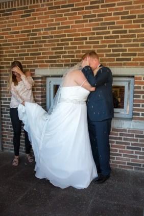 riskast på brudepar