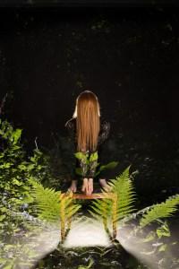 Dobbelt eksponering, Alexandra og grønne plander