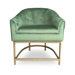 Steel Chair Gold Lipper Round Table And Chairs Keira Dining Byswans Bold Statement Furniture