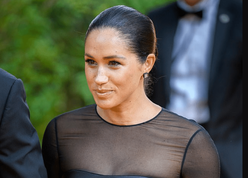 Meghan Markle took part in a public yoga class with SIXTY people in New York