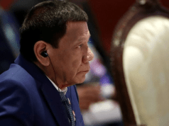 Philippine leader terminates troop agreement with the U.S.