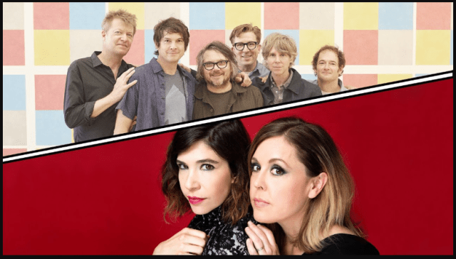 Wilco, Sleater-Kinney Announced Co-headlining Tour