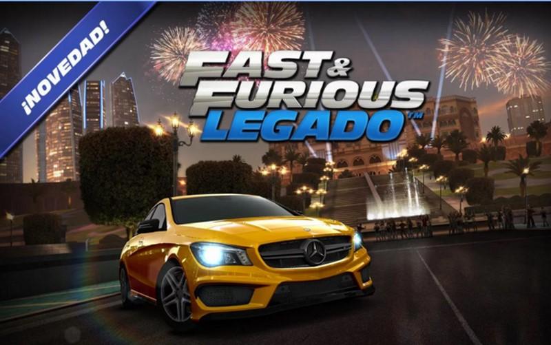 Fast & Furious Legado apra Android