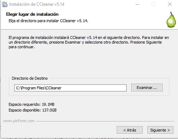 Cómo instalar CCleaner d
