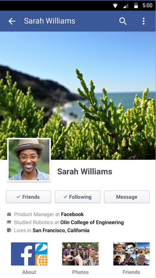 Descargar Facebook para Android b