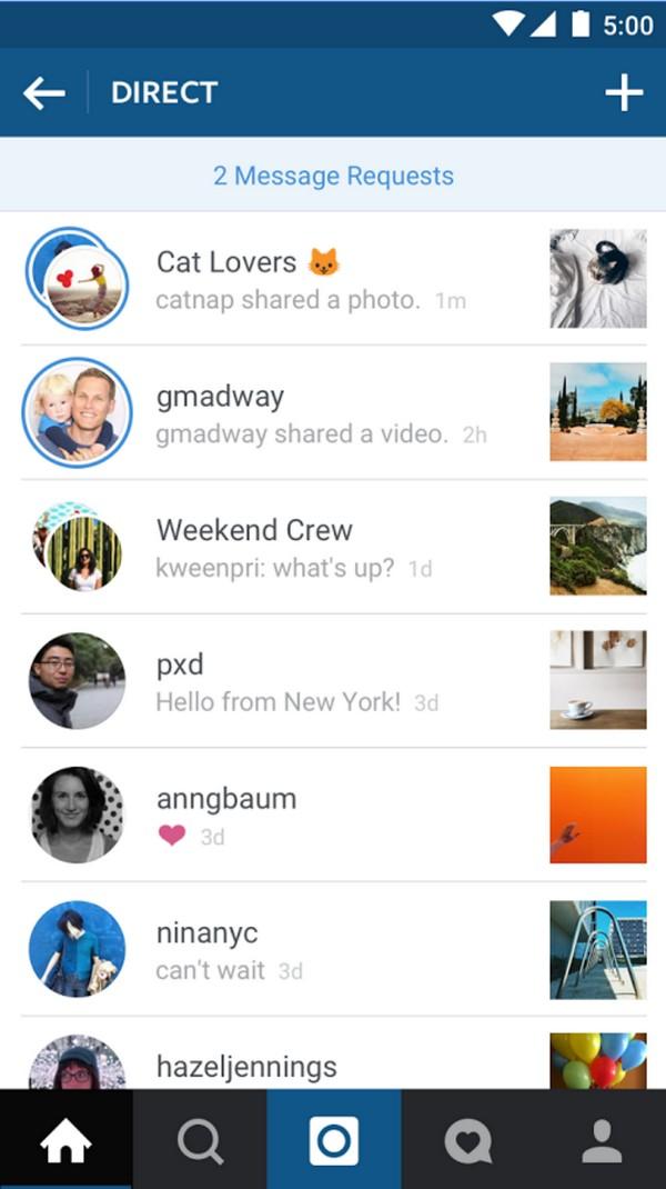 Descargar Instagram para Android d