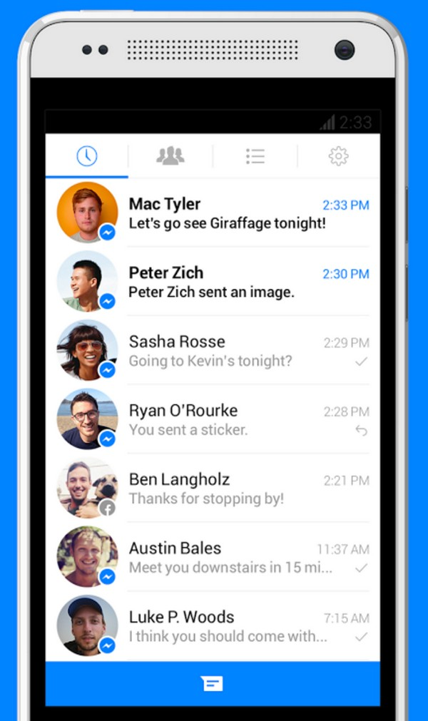 Descargar Messenger para Android b