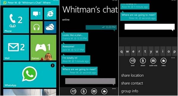 Descargar WhatsApp para Windows Phone b