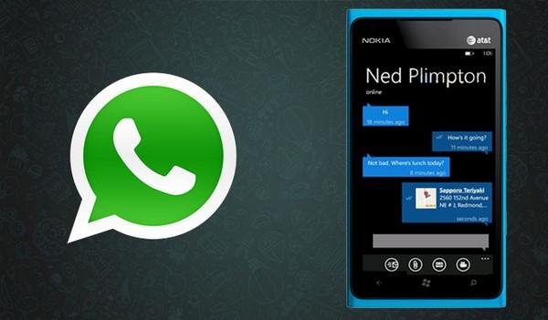 Descargar WhatsApp para Windows Phone