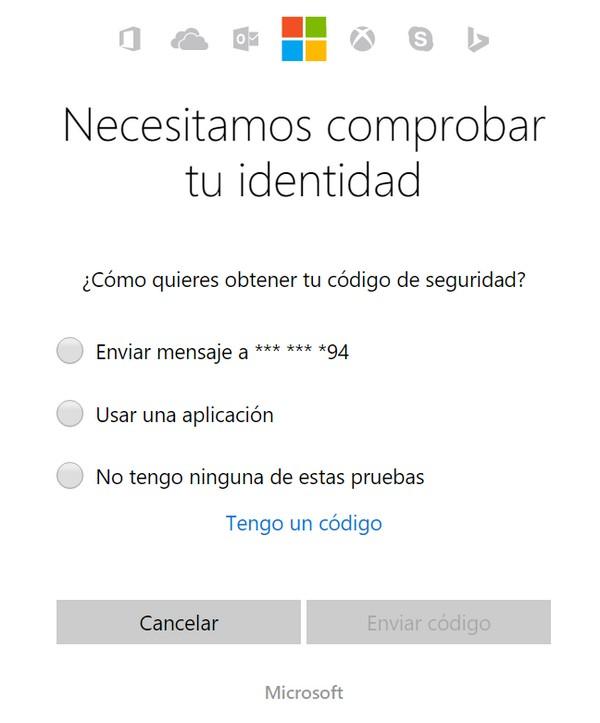 Problemas para iniciar sesión en Hotmail f