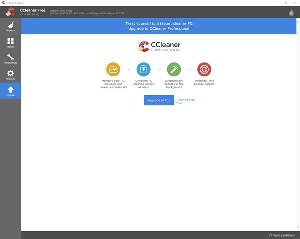 upgrade ccleaner