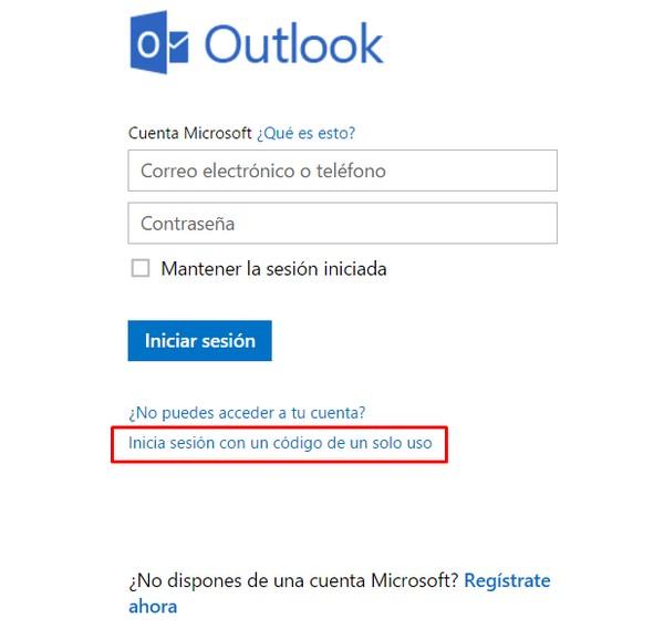 Qué es el código de un solo uso de Hotmail y para qué sirve