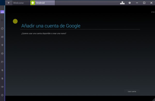 Confiuración Bluestacks 2