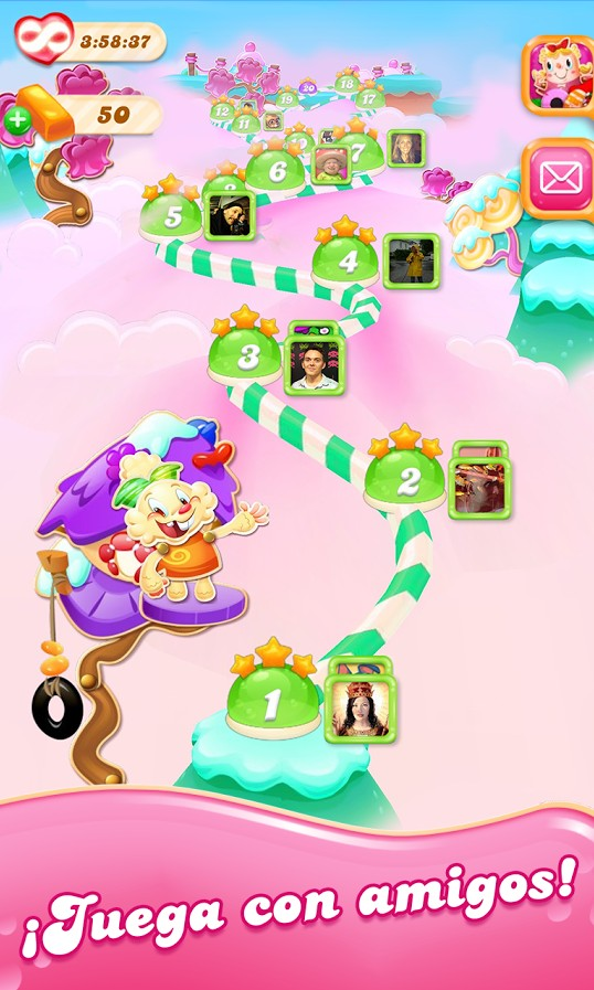 Descargar Candy Crush Jelly Saga para Android d