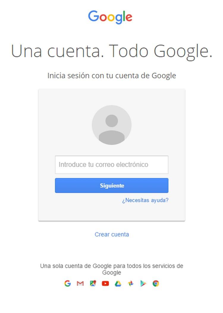 Cómo iniciar sesión en Gmail b