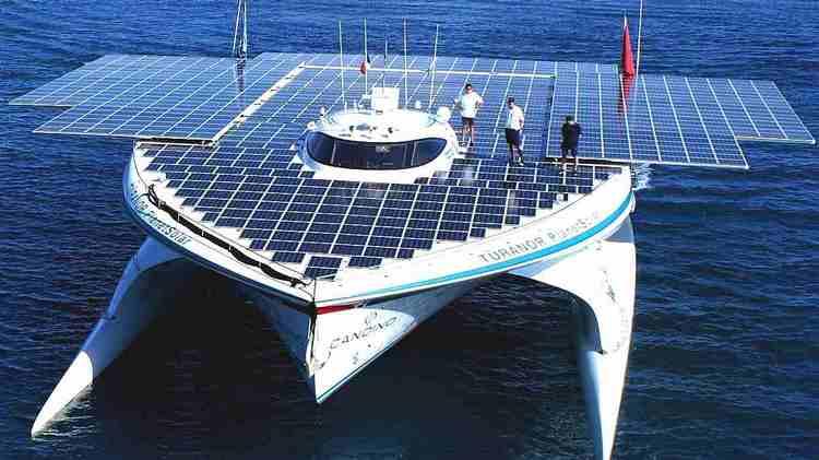 Fotovoltaica en el transporte y la navegación marítima