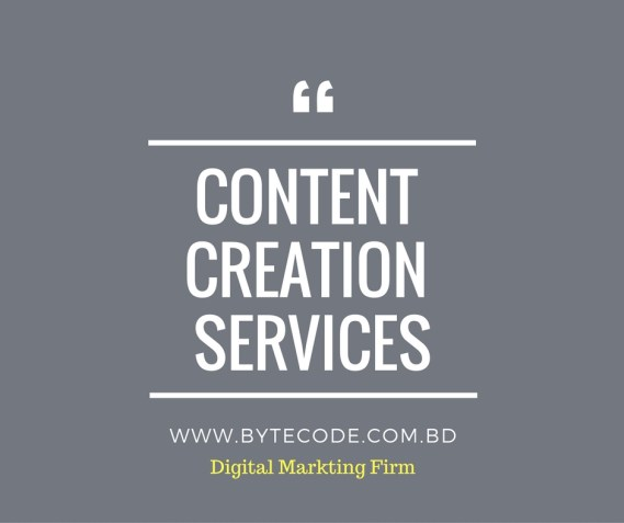 Content Creation Service By ByteCode