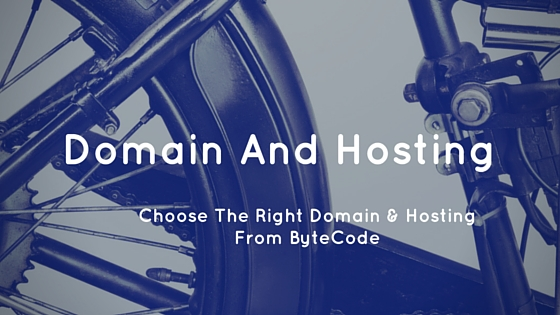 Choose The Right Domain & Hosting From ByteCode
