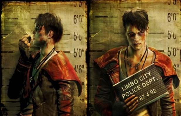 El primer aspecto del nuevo Dante causó bastante controversia entre los fans.