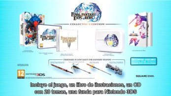 Edición coleccionista Final Fantasy Explorarers