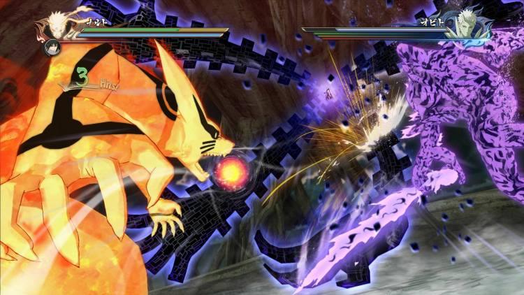 En combates con dos personajes en modo despertar podremos presenciar duelos entre bestias de tamaño considerable