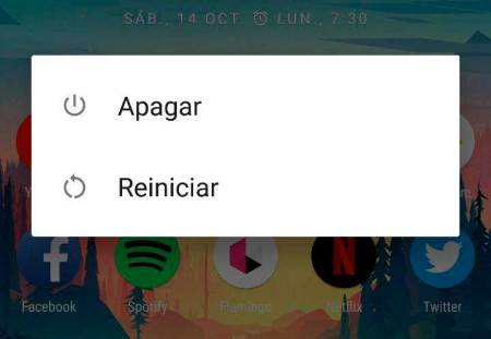 Reiniciar Android
