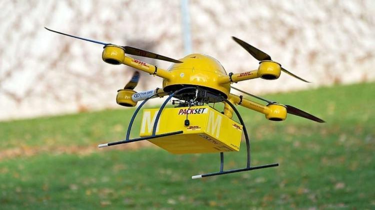 drone dhl